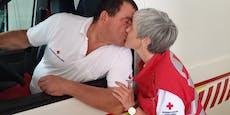 Wir lernten uns beim Roten Kreuz kennen und lieben