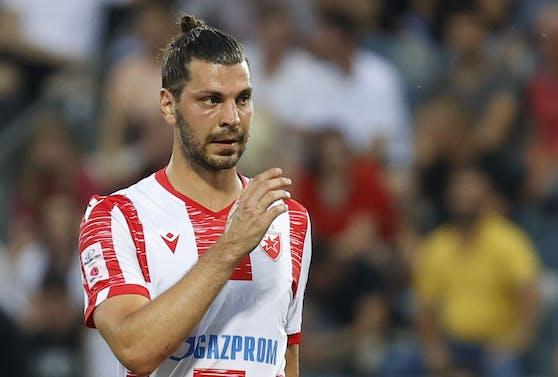 Roter Stern verliert mit Aleksandar Dragovic.