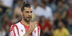 Pleite für Dragovic-Klub Roter Stern in der CL-Quali