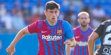 Auf Messi-Position: Demir debütiert im Barca-Dress