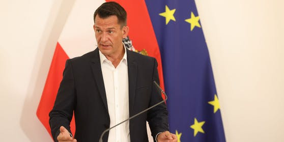 Gesundheitsminister Wolfgang Mückstein