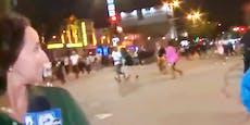 Video zeigt Massenpanik bei Schüssen nach NBA-Spiel