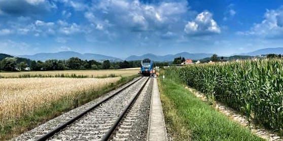 Tödlicher Zugunfall im Bezirk Weiz.