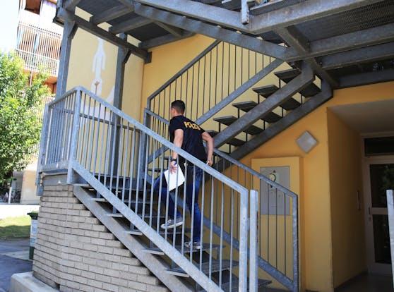 Mordalarm in Graz: eine 17-jährige Schwangere ist am 20. Juli tot in diesem Wohnhaus aufgefunden worden.
