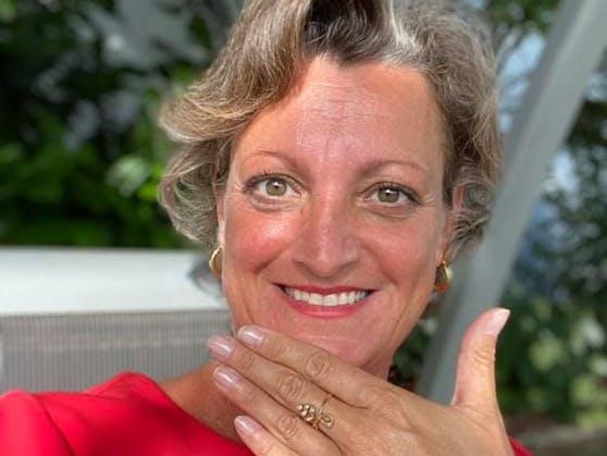 """Sabine Schlögl hat sich selbst das """"Ja""""-Wort gegeben"""