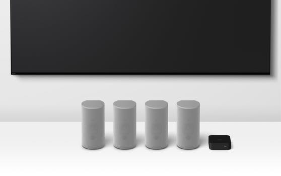 Das Heimkinosystem Sony HT-A9 führt Surround-Sound in eine neue Dimension.
