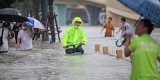 Überschwemmungen in China: Zahl der Flut-Toten steigt