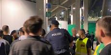 Video zeigt: Sparta-Fans wollten Rapidler attackieren