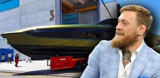 Conor McGregor und seine neue Luxus-Yacht.