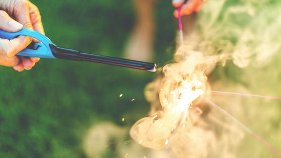 Beim Näherkommen zum Kanister kam es zur Explosion. (Symbolbild)
