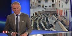 Armin Wolf entschuldigt sich in ZIB 2 bei ORF-Zusehern