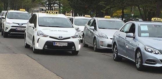 Am Montag kommt es zu einer Taxi-Demo.