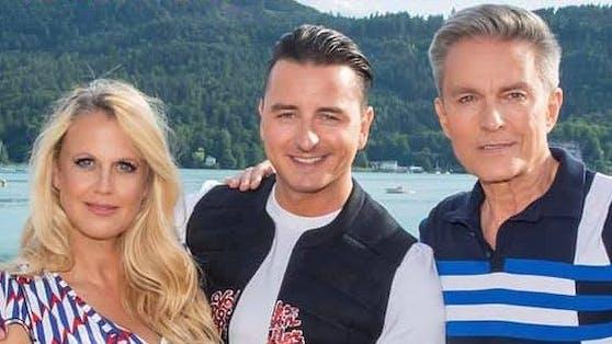 Barbara Schöneberger, Andreas Gabalier, Alfons Haider