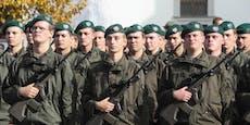 Grenzschutz wird mit 400 Soldaten verstärkt