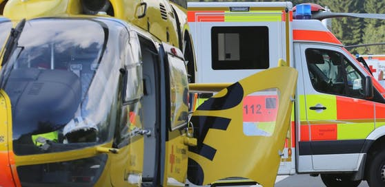 Ein Neunjähriger wurde leicht verletzt, der Unfallverursacher erlitt schwere Verletzungen.