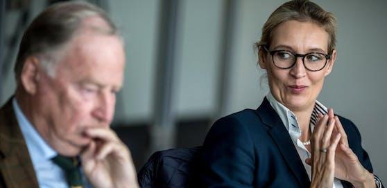 Alice Weidel soll Mails mit rechtsextremen Gedankengut verschickt haben.