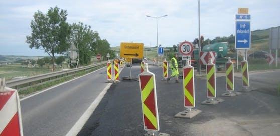 Jetzt starten Sanierungsarbeiten auf der Weinviertel Schnellstraße S3