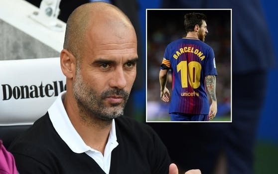 Pep Guardiola über Lionel Messi