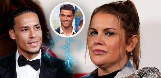 Ronaldo-Schwester Katia geht auf Van Dijk los
