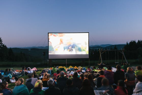 Kino unterm Sternenhimmel