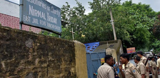 Die indische Polizei hatte am Donnerstag in Ranchi zwei Verdächtige der Ordensgemeinschaft Missionarinnen der Nächstenliebe verhaftet.