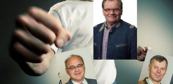 Leitzersdorf: VP-Gemeinderäte werfen Bürgermeister Handgreiflichkeiten vor.