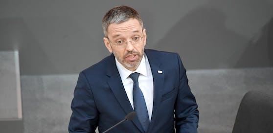 Ärger für Innenminister Herbert Kickl (FPÖ).