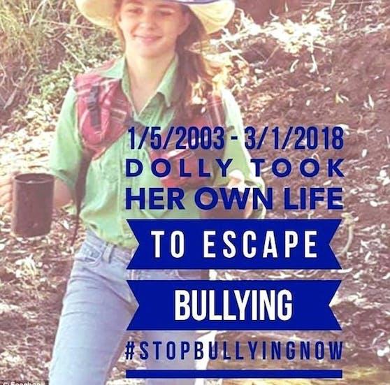 """""""Dolly nahm sich das Leben, weil sie dem Mobbing entkommen wollte"""": Die Eltern von Amy """"Dolly"""" Everett starteten jetzt eine Kampagne gegen Internet-Schikanen (""""Bullying"""")."""