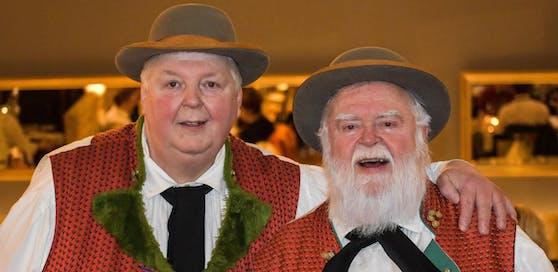 Die Wildecker Herzbuben Wolfgang Schwalm und Wilfried Gliem.