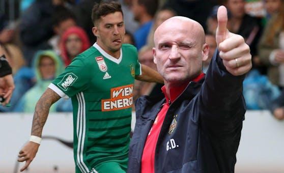 """Rapid-Trainer Goran Djuricin: """"Wir wollen variabel sein."""""""