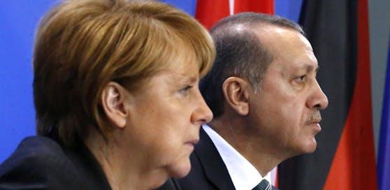 Angela Merkel wird es zu bunt.