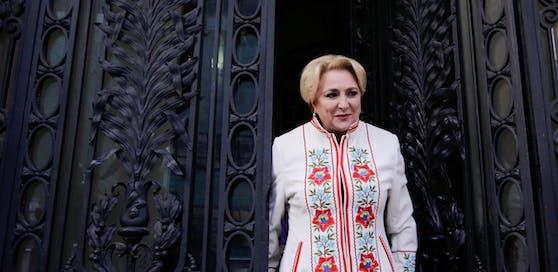 Rumäniens Ministerpräsidentin Viorica Dancila.