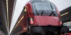 Positiver Urlauber fuhr im Zug von Wien nach Graz