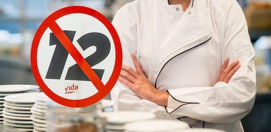 Weil sie nicht 12 Stunden arbeiten wollte, wurde der Köchin gekündigt.