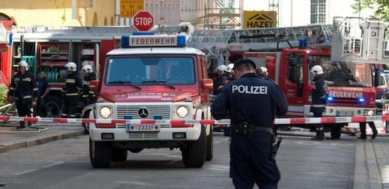 Feuerwehr-Einsatz in der Darnautgasse in Meidling (Symbolfoto).