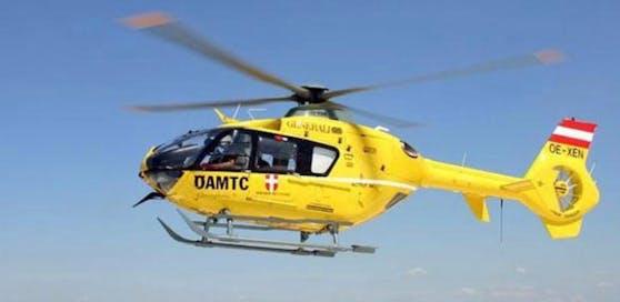 Der Mann (45) wurde ins Spital geflogen.