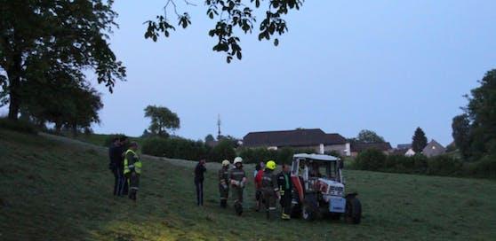 Bei dem Traktorunfall wurde die 16-Jährige verletzt.