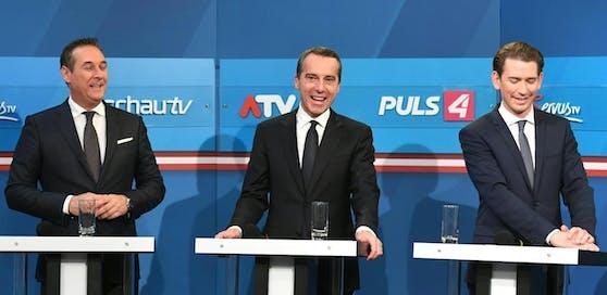 Christian Kern möchte Koalitionsverhandlungen mit ÖVP und FPÖ führen.