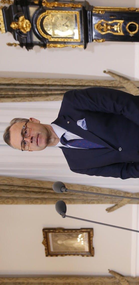 Norbert Hofer, Bundesminister für Verkehr, Innovation und Technologie, ärgert sich über den ORF.