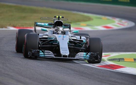 Valtteri Bottas im Mercedes