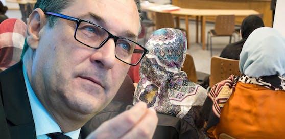 Heinz-Christian Strache will beim Kopftuchverbot eine Einigung mit den Ländern