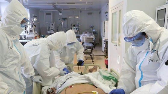 """Aktuell """"nur"""" 31 Patienten auf den Intensivstationen"""