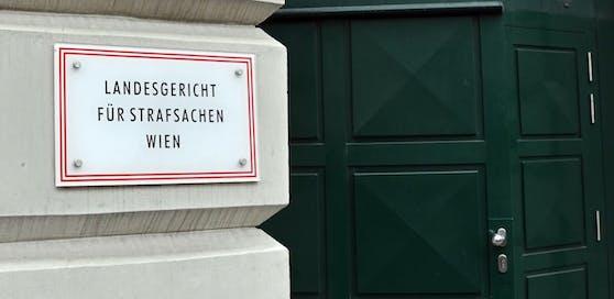 Das Landesgericht für Strafsachen in Wien von außen.