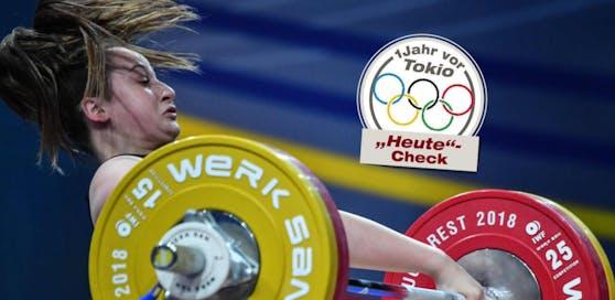 Sarah Fischer nimmt die Olympischen Spiele ins Visier.