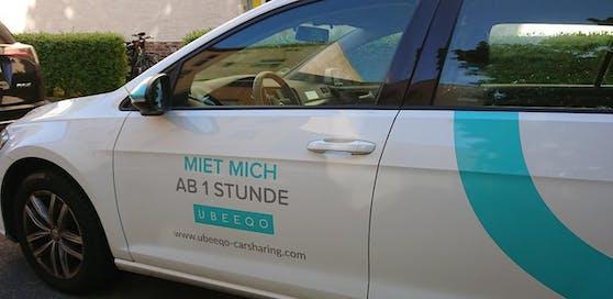 Ein Carsharing-Dienst in Berlin
