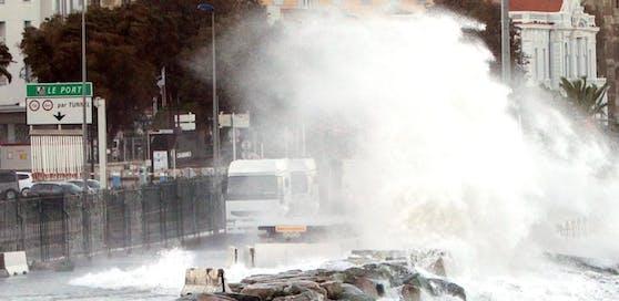 Auf Korsika tobten in den letzten Tagen heftige Stürme (Archivbild)