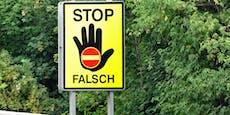 Erst Polizei stoppte Geisterfahrer (92) in Salzburg