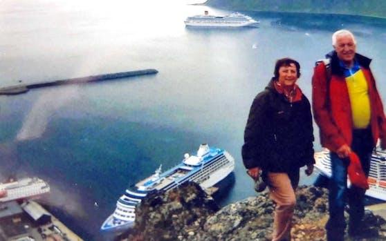 Margit F. und Erwin hatten während der Kreuzfahrt nur selten was zu lachen.
