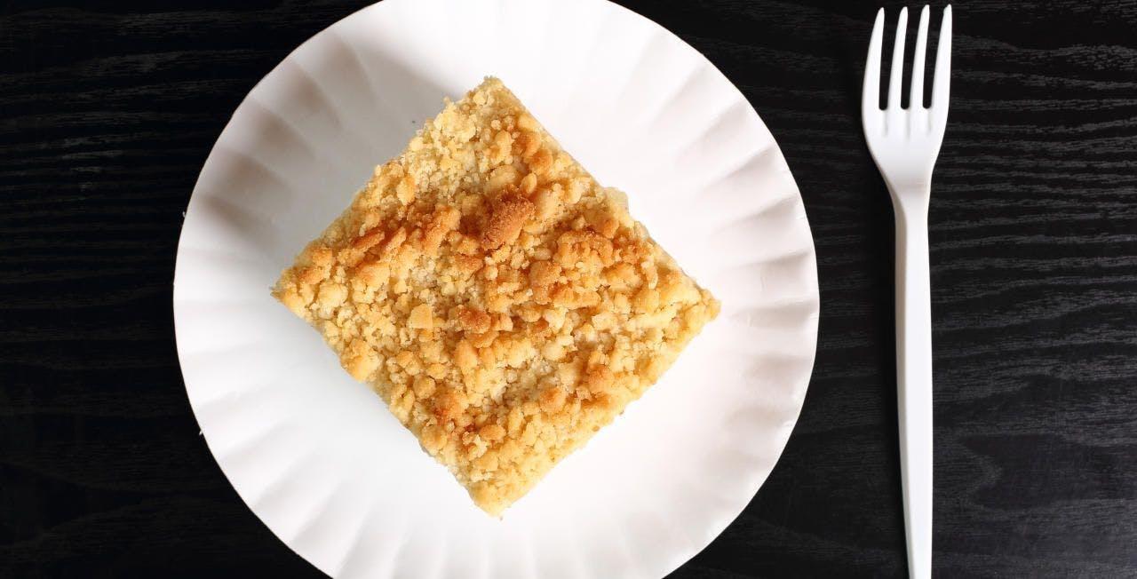 Veganer Apfelstrudel mit Zimtstreusel