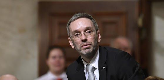 Innenminister Herbert Kickl (FPÖ).